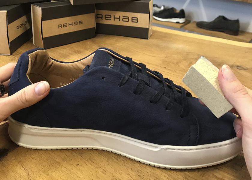 suede schoenverzorging